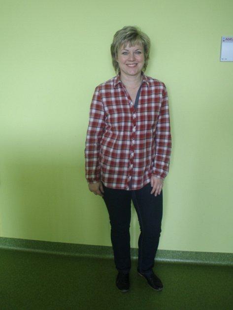 Pět účastnic redukčního programu, který organizoval Prostějovský deník ve spolupráci sAgel Sport Clinic, má za sebou téměř tři měsíce hubnutí - Dana Slavotínková