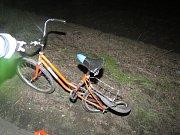 Nehoda cyklisty v Bedihošti