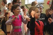 Dětský karneval v Pivíně