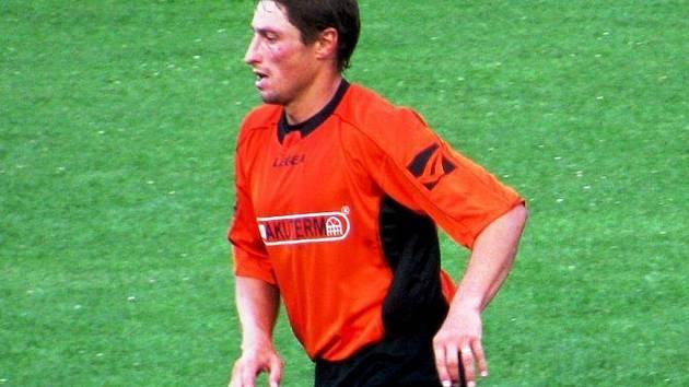 Fotbalista Michal Spáčil