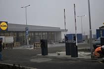 Výstavba nové prodejny Lidlu se v prostějovské Anenské ulici - 24.11. 2020