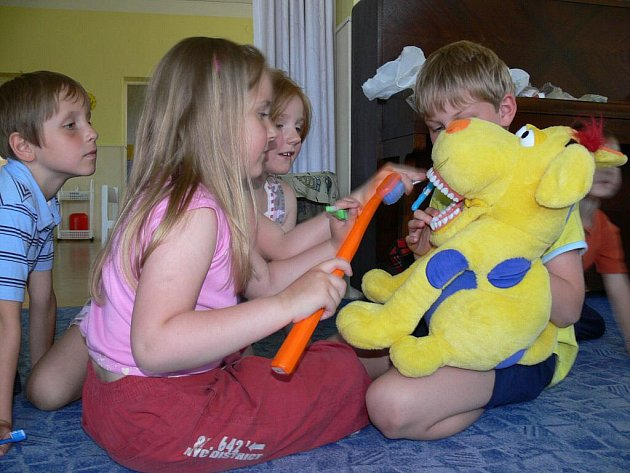 Zdravé zoubky dětem ve Vrbátkách