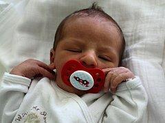 Dominik Vančura, Prostějov, narozen 12. září, 49 cm, 3050 g