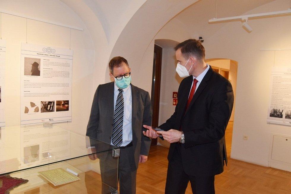Výstava v galerii Špalíček - Masaryk a Svatá země