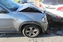 Srážka dvou SUV u Držovic