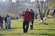Soutěž otužilců na Plumlovské přehradě