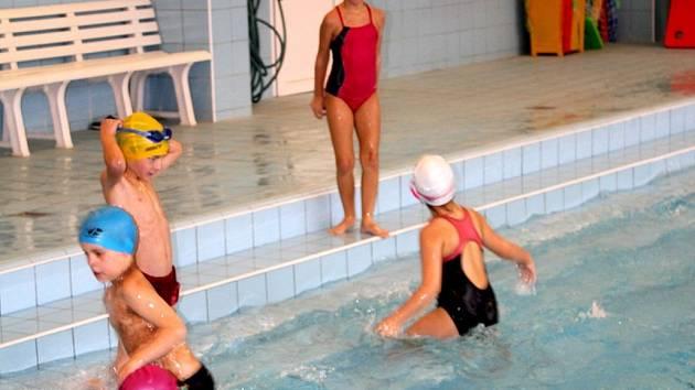 Školní bazén na ZŠ Dr. Horáka v Prostějově