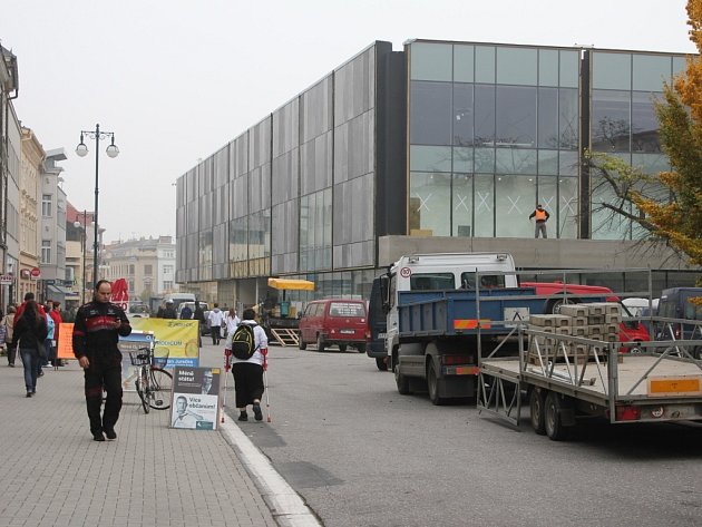Přestavba Prioru v Prostějově ve Zlatou bránu - 15. října 2013