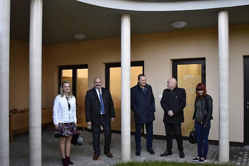 Slavnostní otevření nové budovy Ekocentra Iris v Prostějově, 12.10. 2021