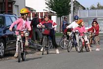 Akce s názvem Smržická šlapka se účastnili cyklisté všech věkových kategorií.