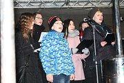 Česko zpívá koledy v Prostějově 2018