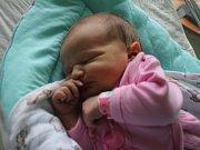 Lilien Kučerová, Prostějov, narozena 30. března v Prostějově, míra 50 cm, váha 3700 g