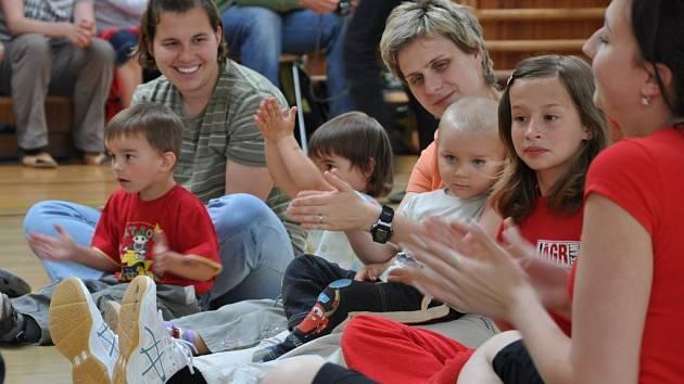 Rodiče s dětmi slavili v Cipísku Mezinárodní den rodin
