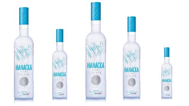 Hanácká vodka silver - Nejnovější výrobek prostějovské palírny má ve znaku pražský groš