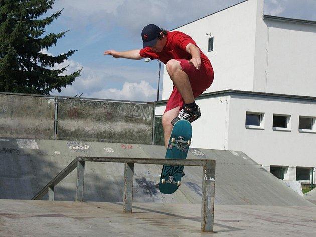 Prostějovský skatepark - machři v akci