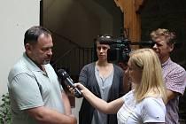 Michal Šmucr povídal o osudech židů na Prostějovsku.