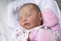 Viktorie Nedomová, Přemyslovice, narozena 23. února v Prostějově, míra 50 cm, váha 3250 g