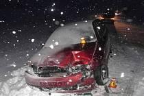 Nehoda u Kostelce na Hané