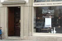 Pilsner Urquell Original Restaurant na prostějovském náměstí TGM