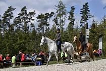Na den vítězství se pro mnoho turistů stala atraktivním cílem rozhledna na Velkém Kosíři. 8.5. 2021