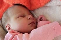 Eliška Kratochvílová, Nová Ves, narozena 17. listopadu 2020, míra 50 cm, váha 3340 g