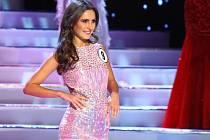 Zuzana Juráčková v soutěži Česká Miss