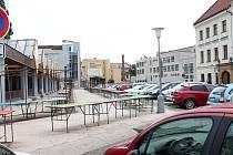 Jižní část centra města v okolí Špalíčku je stále předmětem nekončícího soudního sporu.