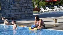 Koupaliště Stražisko je oázou klidu a pohody pro letní rekreaci. 18.6. 2021