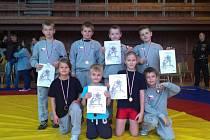 Mladí čechovičtí zápasníci. Ilustrační foto
