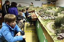 Tradiční výstava přerovských železničních modelářů - 60. léta