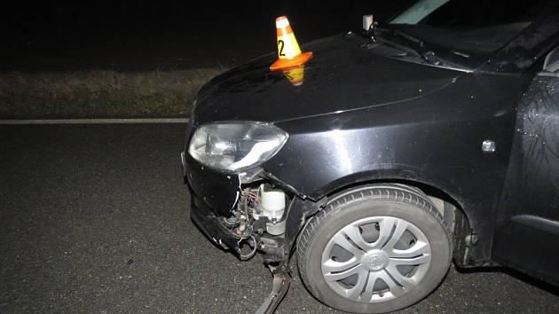 Nehodu řidička přežila, srna ne.