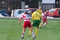 Konice B (v červeném) proti Hané Prostějov