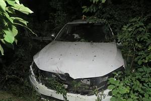 Mezi obcemi Výšovice a Bedihošť došlo k havárii Škody Octavia.