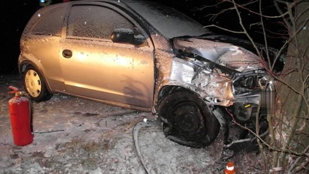 Nehoda u Horního Štěpánova