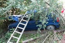 Nehoda mezi Čechy pod Kosířem a Lhotou pod Kosířem