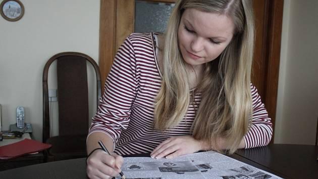 Kreslení se Alexandra Svobodová věnuje odmalička. S jejím malířským uměním se mohou lidé seznámit na stránkách Plumlovského zpravodaje.