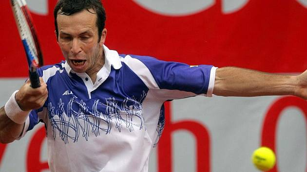 Radek Štěpánek na Czech Open