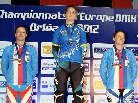 Zleva Jana Horáková, Eva Ailloud, Aneta Hladíková