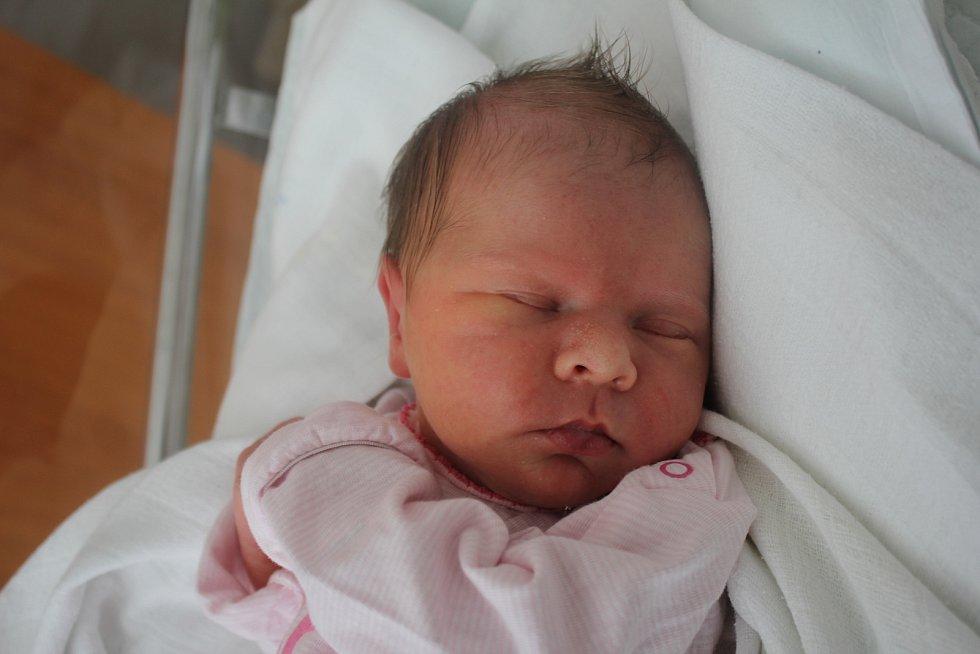 Veronika Grigarová, Prostějov, narozena 1. září 2019 v Prostějově, míra 47 cm, váha 2750 g