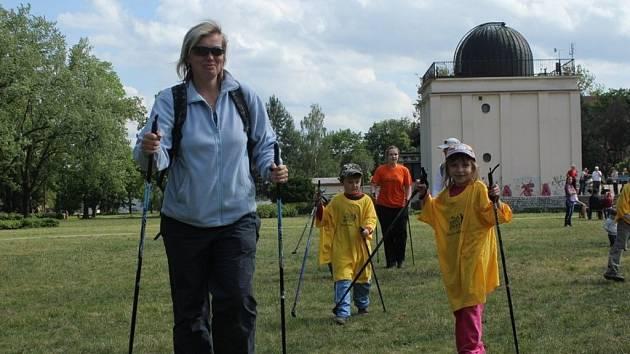 Na Tour Nordic walking 2012 přišlo v Prostějově 483 lidí