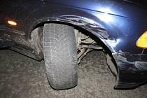 Při nehodě v Držovicích se zranila žena. Od policistů pak dostala pokutu.