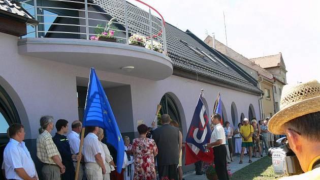 V Čechách otevřeli multifunkční budovu