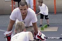 Malí Jestřábi trénovali s Antonínem Honejsekem