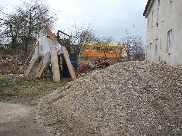 Budoucí Oživlá zahrada ve Vrchoslavicích