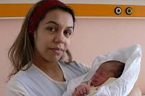 Tomáš Petr s maminkou Marií, Studenec, narozen 15. února, 48 cm, 3500 g