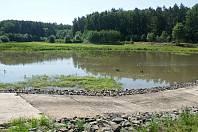 Rybník Osina u Krumsína - začátek června 2019