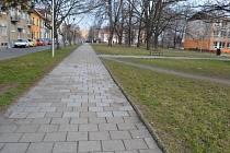 Město nechá opravit chodník i ve Studentské ulici