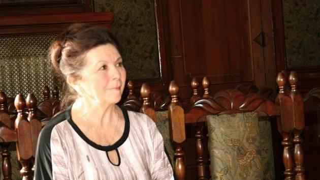 Chemikářka Ivanka Hájková z Gymnázia Jiřího Wolkera v Prostějově soutěží o Zlatého Ámose