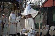 Ochotníci v Březsku si pro své sousedy připravili zábavnou podívanou