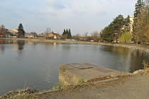 Drozdovický rybník - konec března 2012